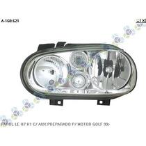 Farol Esquerdo H7 H1 Aux Preparado Motor Golf 99/... - Arteb