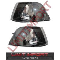 Pisca Volvo S40 V40 2001 2002 2003 2004 Negra Fume Par