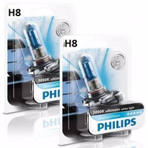 Lâmpada Xenon Diamond H27 881 E H8 Philips 5000k