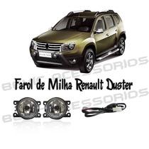 Kit Farol De Milha Auxilar Renault Duster