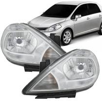 Farol Nissan Tiida 2007 2008 2009 2010 2011 2012 2013