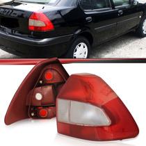 Lanterna Traseira Fiesta Sedan 2001 2002 2003 Bicolor