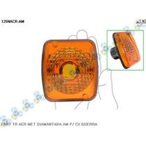 Lanterna Traseira Acrilica Met Diamantada P/ Caixa Carreta