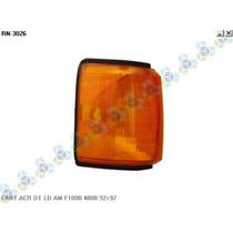 Lanterna Acrilica Dianteira Ld/le Amarela F1000 F4000 92/97