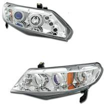 Tuning Imports Par D Farol Projector Angel Honda New Civic
