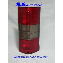 Lanterna Sinaleira Traseira Ducato 97 98 99 00 01 02 2000