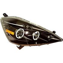 Tuning Imports Par De Farol Projector Honda New Fit Oferta