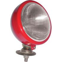 Farol Trator Redondo Mf Cbt Vermelho -fl035 -4884723m91