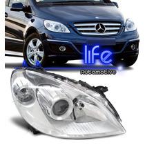 Farol Mercedes Classe B Duplo Cromado Mod. Original
