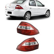 Lanterna Traseira Prisma 2007 2008 2009 2010 2011 Par
