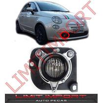 Farol Milha Auxiliar Fiat 500 Sport Direito 2010 2011