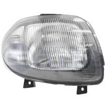 Farol Simples Renault Clio Hatch 99 Sedan 00 A 02 Ld Cibie