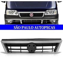 Grade Dianteira Ducato 04 05 06 07 08 09 10 11 Friso Prata