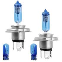 Lampada Philips Crystal Vision H4 55 4300 Super Branca