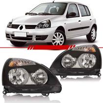 Farol Clio 2003 2004 2005 2006 Máscara Negra
