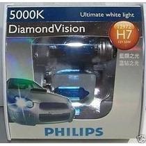 Lâmpadas Philips Diamond Vision H7 Efeito Xenon 5000k