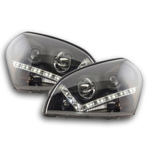 Tuning Imports Par De Farol Projector Drl R8 Hyundai Tucson