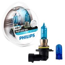 Lâmpada Philips Crystal Vision Ultra Hb4/9006 S. Branca- Par