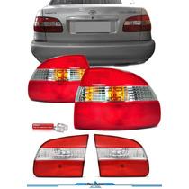 Kit Lanterna Corolla 4 Peças 1998 1999 2000 2001 2002 Novo