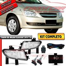Kit Farol Milha Corsa Classic 2011-2013 Bt Mod Orig+xenon Fr