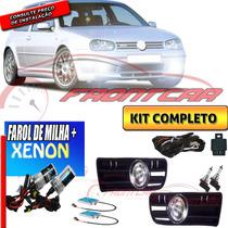 Kit Farol De Milha Golf 1999/2004+ Xenon Fr