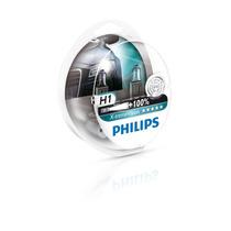 Kit Lâmpada Philips X-treme Vision H1 55w 12v 100% + Luz