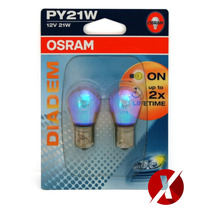 Lâmpadas Osram Diadem Pisca Ambar Py21w Honda Civic Fit Cr-v