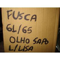 Farol Completo Fusca 61/65 Olho De Boi Ou Sapo Vidro Liso