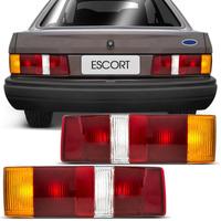 Lanterna Traseira Escort L Gl Xr3 87 88 89 90 91 92 Tricolor