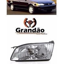 Farol Corolla 1999 2000 2001 2002 Lado Esquerdo