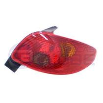 Lanterna Traseira Peugeot 206 04 A 09 Ld Cibie