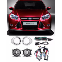 Kit Farol De Milha Ford Focus 2014 Com Kit Xenon