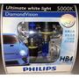 Lampadas Philips Diamond Vision Hb4 Efeito Xenon 5000k