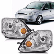 Farol Fiesta Hatch Sedan 2003 2004 2005 2006 2007 Ford