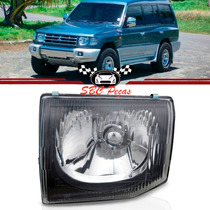 Farol Mitsubishi Pajero Gls Liso 1998 1999 2000 Esquerdo