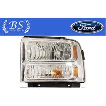 Farol Ford F250 F350 F4000 2007 2008 2009 2010 Marca Depo