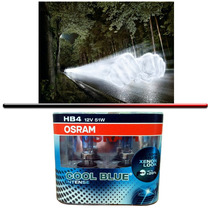 Kit Lampada Osram Cool Blue Intense Hb4 Super Branca 4200k