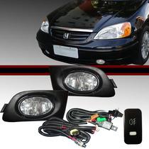 Kit De Farol Milha Honda Civic 2001 2002 2003