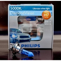 Lâmpada Super Branca Philips Diamond Vision H7 5000k