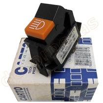 Interruptor Botão Farol Milha Gol Gt 84 85 86 87 Carto Novo