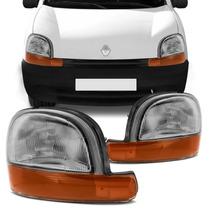 Farol Renault Kangoo 97 98 99 00 01 02 03 2000 2002 2003