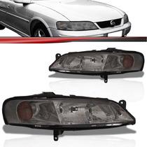 Farol Vectra Challenger 2000 2001 2002 2003 2004 Lente Fumê