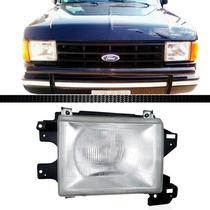 Farol Ford F1000 93 94 95 1993 1994 1995 Com Moldura