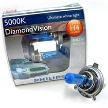 Kit Lâmpadas Philips Diamond Vision H4 Efeito Xenon 5000k
