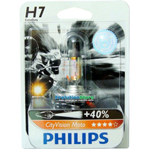 Lâmpada Philips City Vision Moto H7 (motovision)