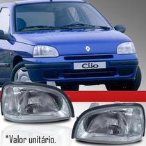 Farol Renault Clio 95 96 97 98 99 Novo