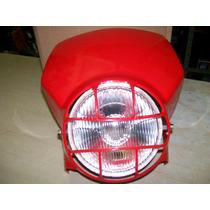 Farol Com Carenagem Vermelha Honda Xl 250 R Xlx Baratão Moto
