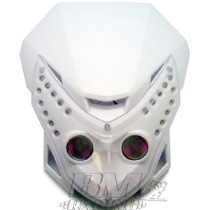 Farol Carenagem Máscara Universal P/ Moto Naked Frete Grátis
