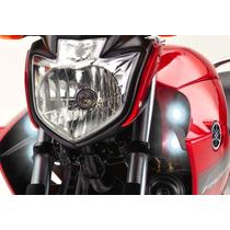 Farol Auxiliar / Farol De Milha Para Yamaha Fazer 250 New