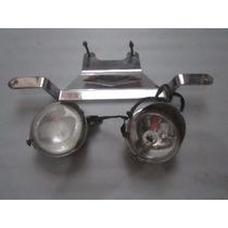 Suporte De Farol Auxiliar Moto Custom